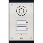 Helios Uni, 2 tlačítka analógový dverný vrátnik