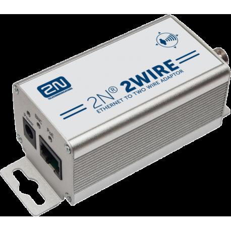 2Wire - sada s EU napájacím káblom prevodník