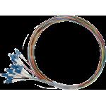 Pigtail 9/125 LCpc SM OS1 1,5m, balenie 12ks - farby SXPI-LC-PC-OS1-1,5M-12PCK