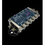 SC 504 multiprepínač pre 4 satelitné prijímače