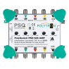 PSQ 505 Amp 5-vstupový zosilňovač