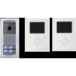 ZH1252AGLEW/2 digitálna dvojvodičová video súprava pre 2 užívateľov