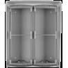 PL94 krabica na povrchovú montáž + ochranná strieška na 4 moduly Profilo