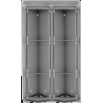 PL96 krabica na povrchovú montáž + ochranná strieška na 6 modulov Profilo