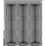PL99 krabica na povrchovú montáž + ochranná strieška na 9 modulov Profilo