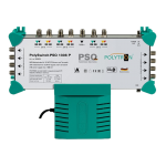 PSQ 1308 P samostatný multiprepínač 13 vstupov, 8 výstupov