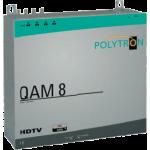 QAM 8 skupinová stanica pre 8 transpondérov