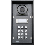 Helios FORCE 1 tlačítko, klávesnica analógový dverný vrátnik