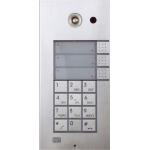 Helios VARIO, 3x1 tlačítko+klávesnica analógový dverný vrátnik