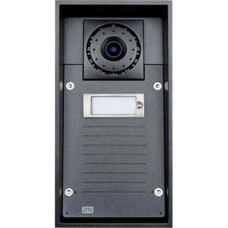 Helios IP FORCE 1 tlačítko, kamera, 10W IP dverný vrátnik