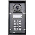 Helios IP FORCE 1 tlačítko, kamera, klávesnica, 10W reproduktor IP dverný vrátnik