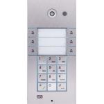 Helios IP VARIO, 3x2 tlačítka + klávesnica + kamera IP dverný vrátnik