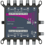 SUCP 532 multiprepínač s terestriálnym vstupom