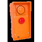 Helios IP SAFETY (IP dverný vrátnik) - 1 červené núdzové tlačítko