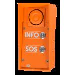 Helios IP SAFETY (IP dverný vrátnik) - 2 tlačítka