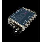SC  508 multiprepínač pre 8 satelitných prijímov