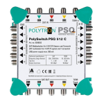 PSQ 512 C Green-line kaskádový multiprepínač