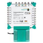 PSQ 916 P  samostatný multiprepínač 9 vstupov, 16 výstupov