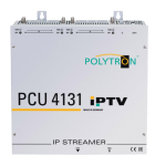 PCU 4131 IPTV headend